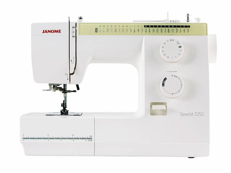 Janome Sewist 725S Front